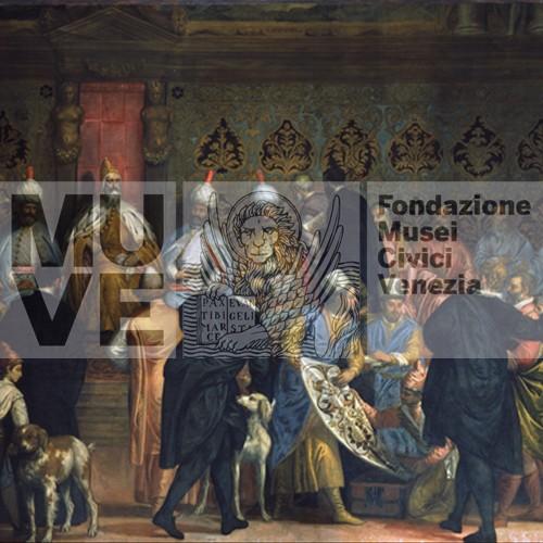 Caliari, Grimani riceve i persiani